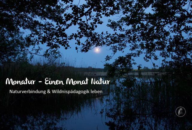 der aufgehende Mond über dem See in Wangelkow, dem Basiscamp für Monatur