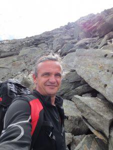 Thomas Patzleiner bei einer Bergtour